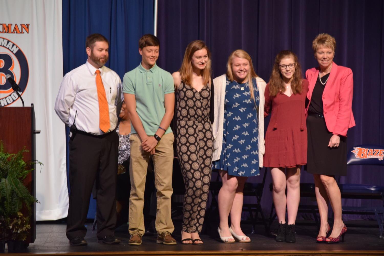 Photo Gallery: Freshman Awards 2017