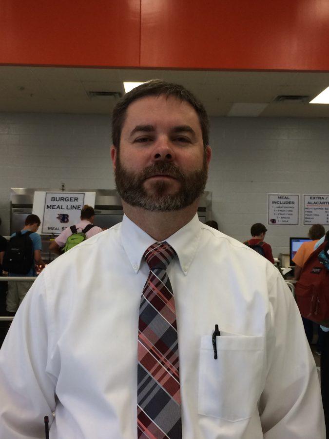 A Familiar Face In A New Place: Mr. Pedigo, Our New Assistant Principal