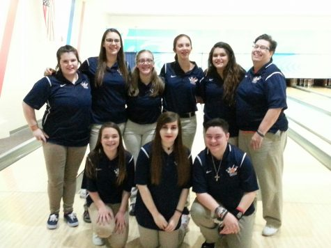 Girls Bowling Places in State Tournament