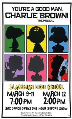 Blackman High School Presents: You're A Good Man, Charlie Brown
