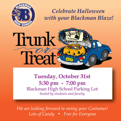 Trunk Or Treat At Blackman!