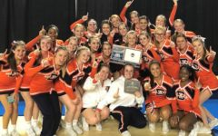 Blackman Cheer Teams Place First at Competition