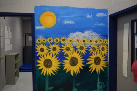Sunflowers in a Classroom!