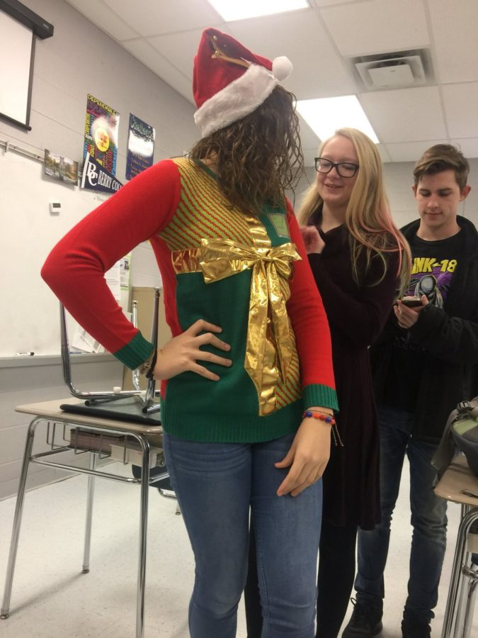Winners: Ugly Christmas Sweater Contest