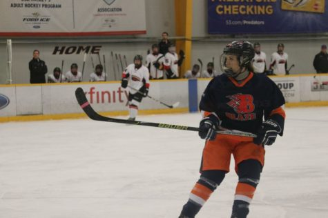 Calista Brownlow-Sliding In The Life of A Hockey Player