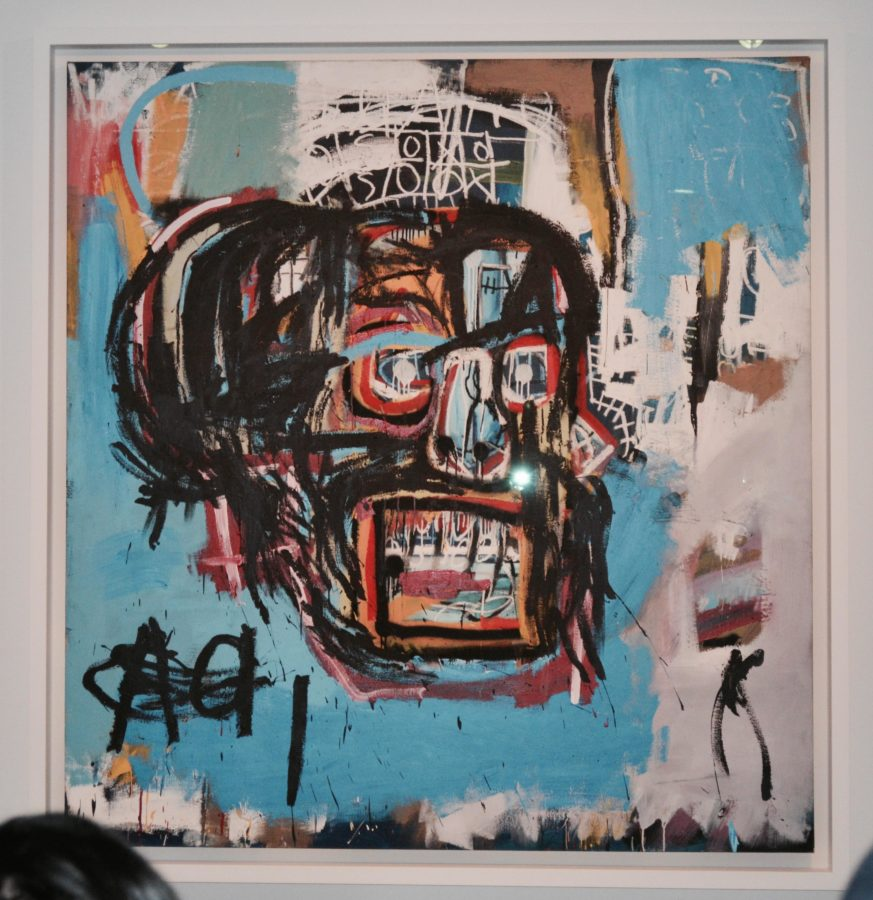 Day Two:  Later this day, we went to the Brooklyn Museum. This exhibit was one of the first things to pop up on their website, and it intrigued me. The artist, Jean-Michel Basquiat, was born in Brooklyn, and this piece is one of the only things left linking him to the town. This piece was bought by Yusaku Maezawa, whom enjoyed the piece so much that he decided he wanted to share the beauty of this piece with more people.