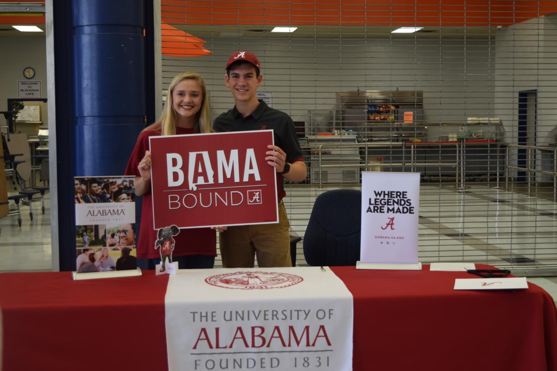 Kaeli+Dorsey+and+Luke+Porter%2C+University+of+Alabama+