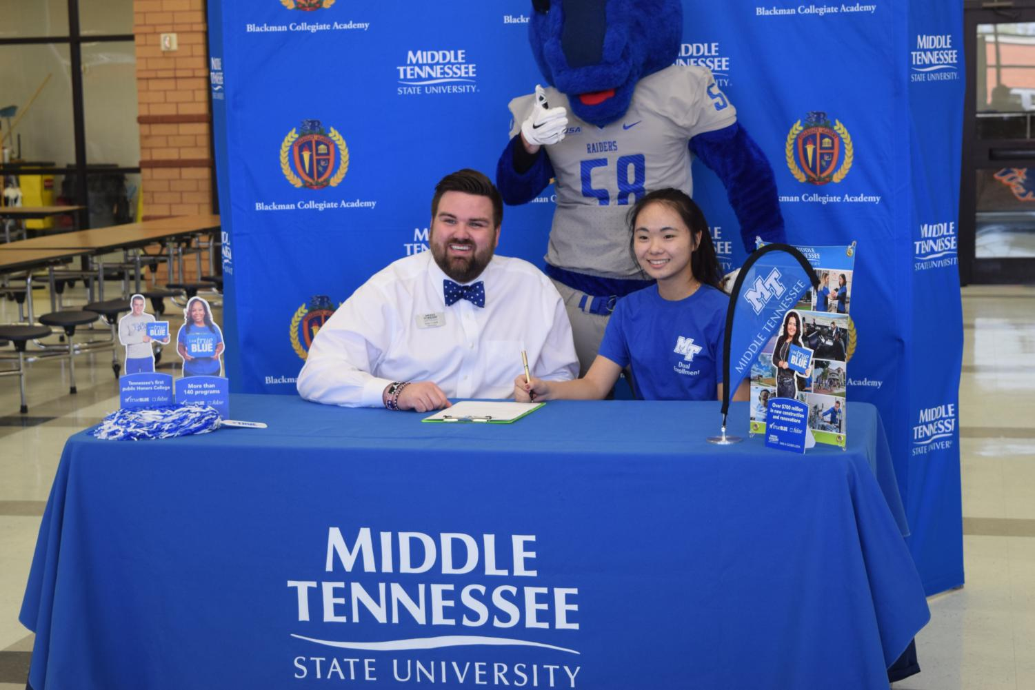 Amy+Lin+will+attend+Middle+Tennessee+State+University+in+the+fall.