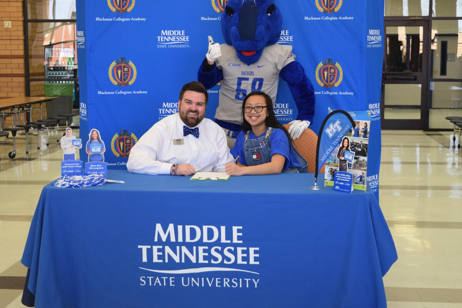 Sofija+Rajvong+will+attend++Middle+Tennessee+State+University+in+the+fall.