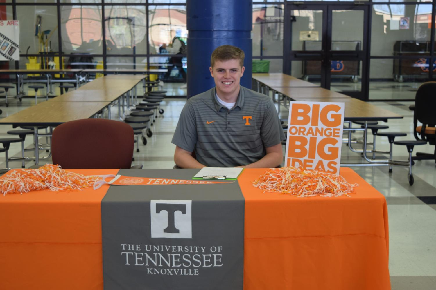 Graison+Sweeney+will+attend+the+University+of+Tennessee%2C+Knoxville+in+the+fall.