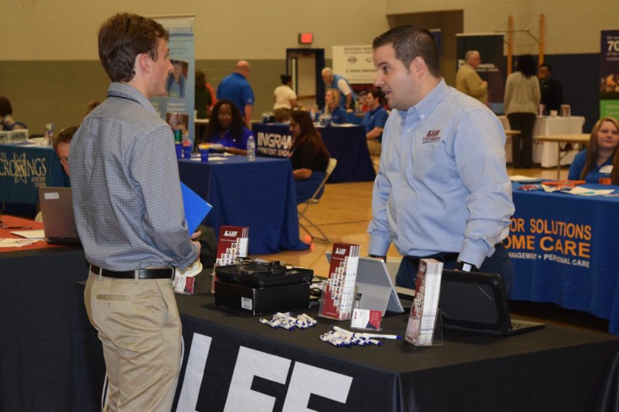 Blackman High School hosted a hiring event for seniors. Students had the opportunity to interview for jobs in a variety of different categories.