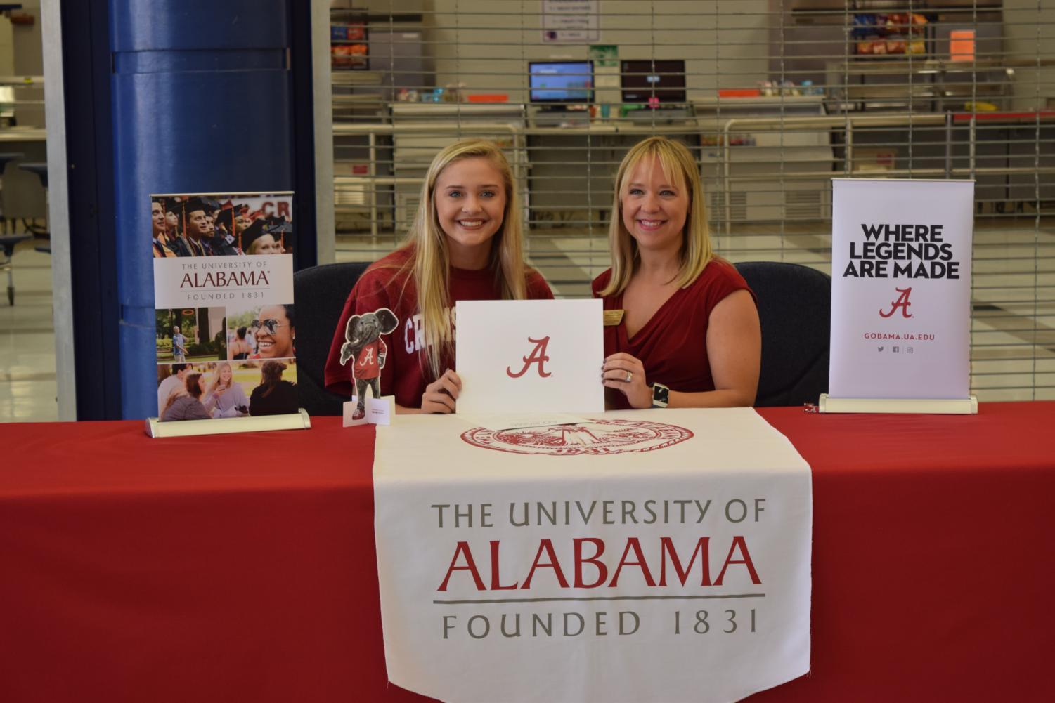 Kaeli+Dorsey+will+attend+the+University+of+Alabama+in+the+fall.+