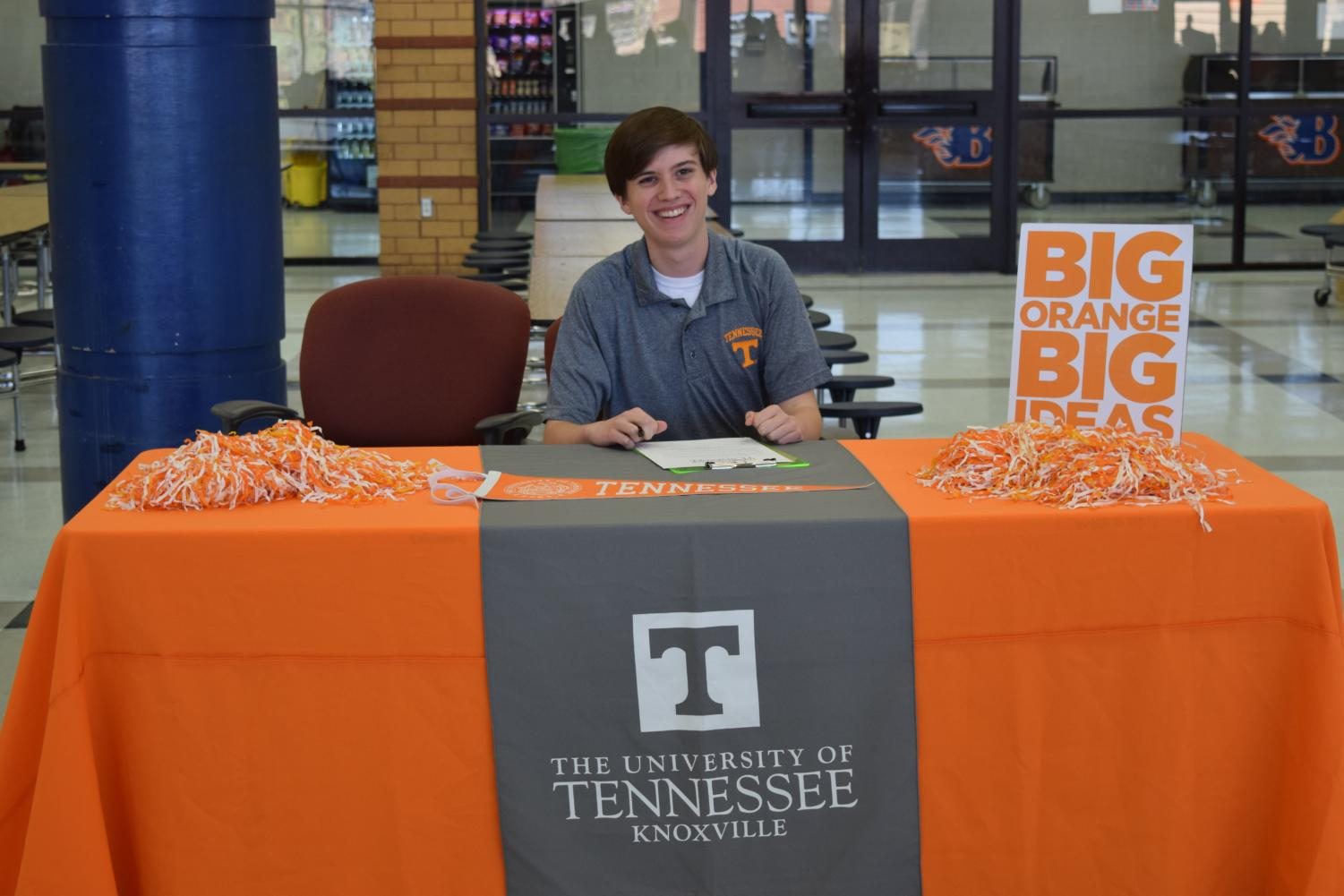 Richard+Arning+will+attend+the+University+of+Tennessee%2C+Knoxville+in+the+fall.