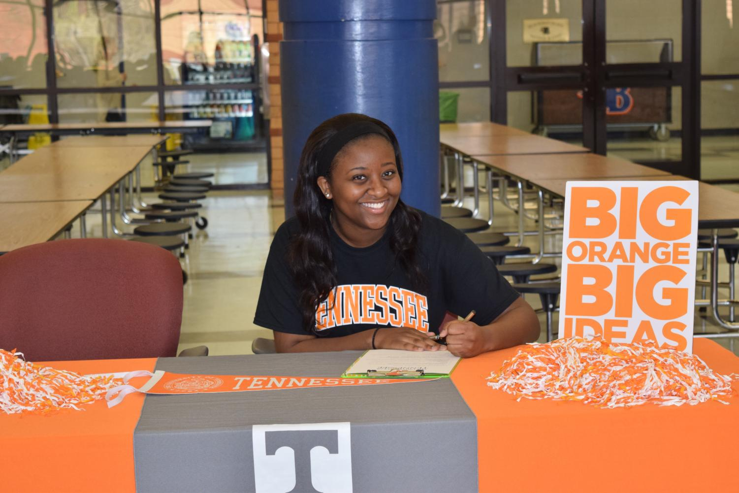 Jaida+Hunt+will+attend+the+University+of+Tennessee%2C+Knoxville+in+the+fall.