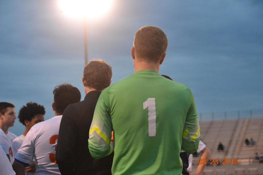 Senior goalkeeper: Colin Dunkley
