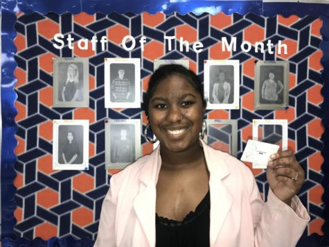 The Blackman Voice Staff of the Month