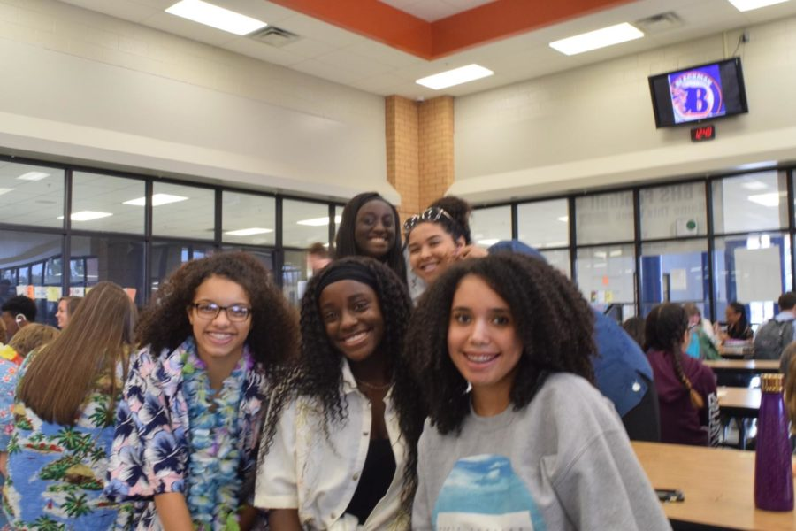 Victoria Page, Faith Anderson, Hope Anderson, Sophomores, Olivia McGlory, Aaliyah Green, Juniors
