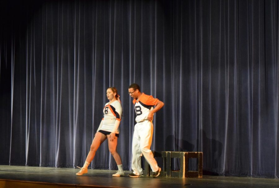 Aubrey and Hope were very comedic during their performance.