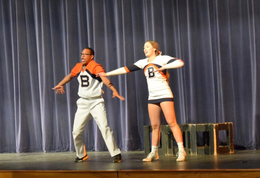 Aubrey and Hope show us their crazy dance routine.