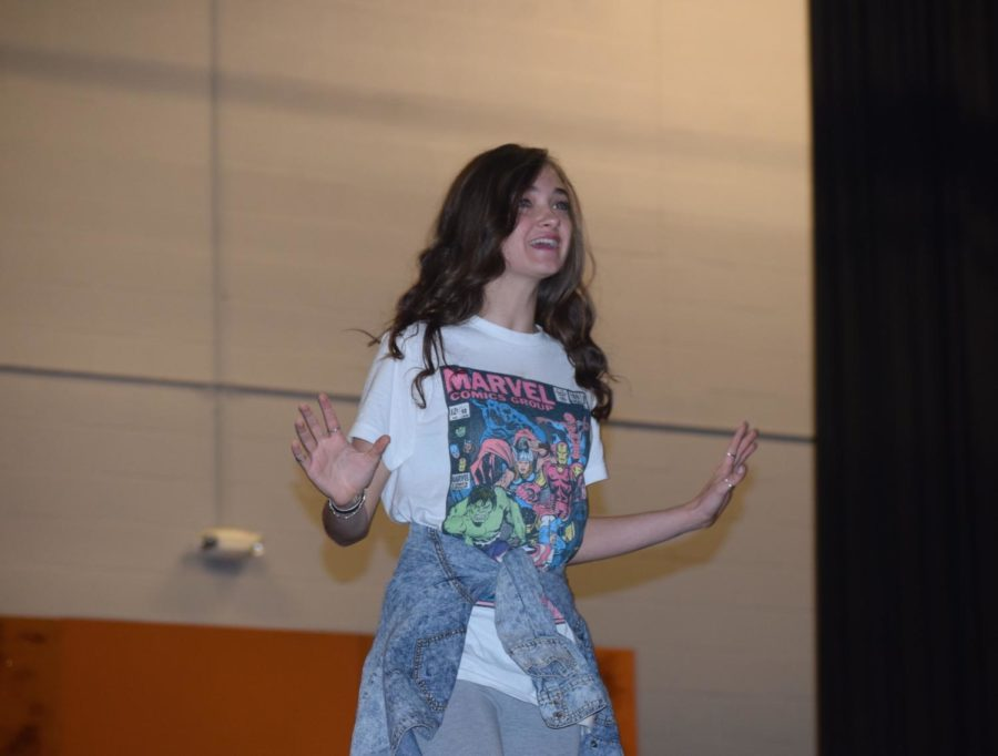 Olivia Sorrell (Cinderella) sings her heart out about her dream to go to the festival.