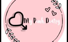 This is the My Pink Diary (MPD) logo.