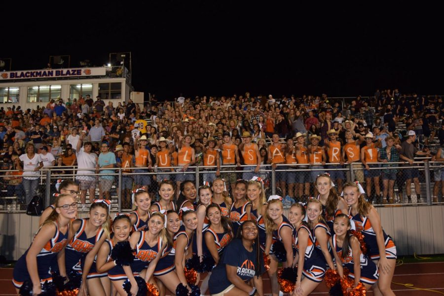 Blackman Friday night lights