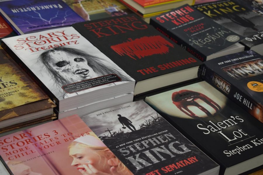 There is a great selection of Stephen King novels just in time for the Halloween season.