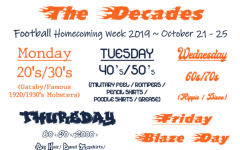 Homecoming Week Themes