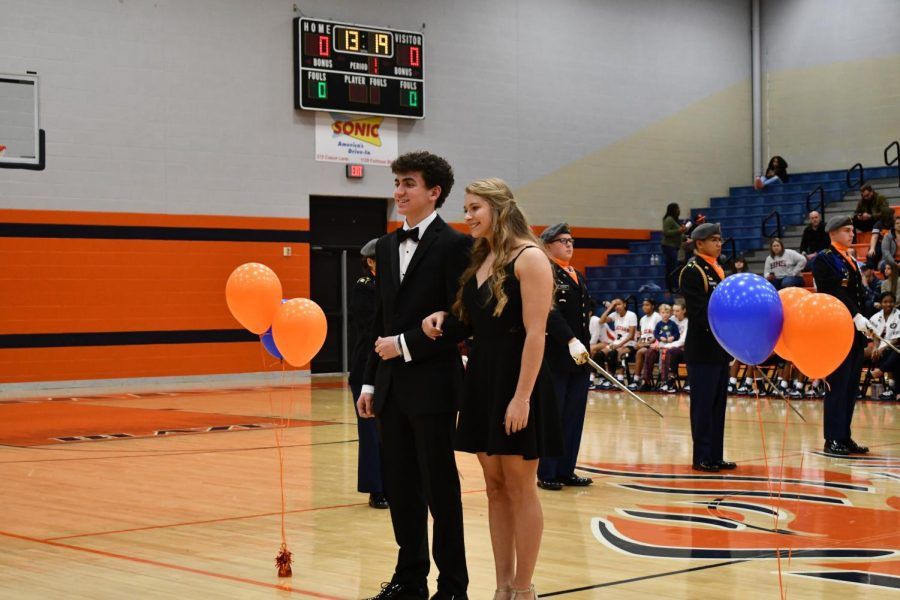 Sophomore Attendants: Ben Turner and Riley Griffith