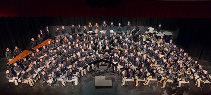 Group of Mid-State musicians