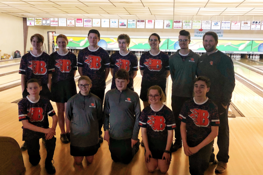 The Blackman High School bowling team.