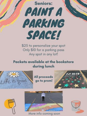 Coming Soon: Seniors, Paint Your Parking Space!