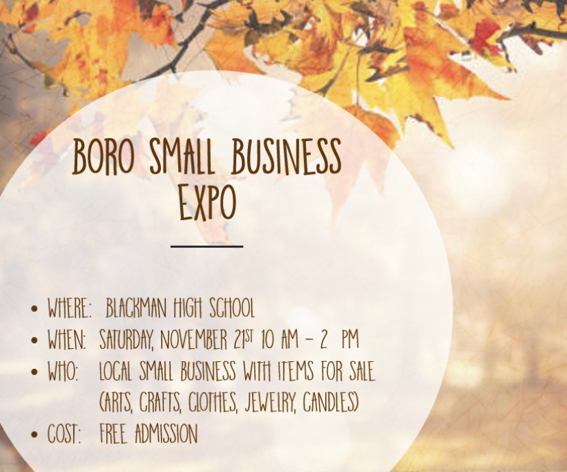 Boro Small Business Expo at Blackman High School.