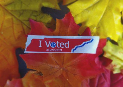 Tennessee voting sticker