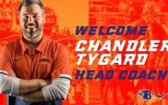 Chandler Tygard was chosen as Blackman High School's new football coach.