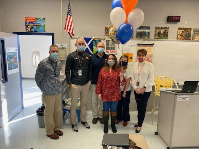 Geneva Cook was selected as Blackman Highs Teacher of the Year.