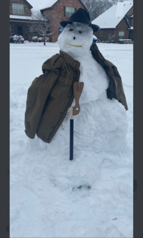 Ulysses Grant snowman