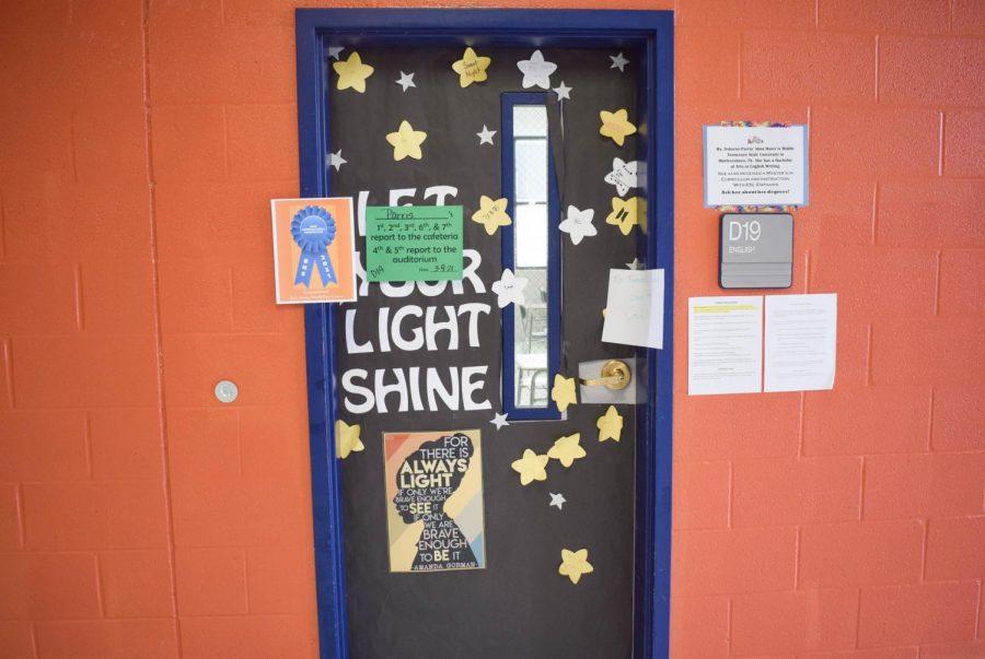 Caitlyn Osborne-Parris' door, Let Your Light So Shine, won Best International Perspective.