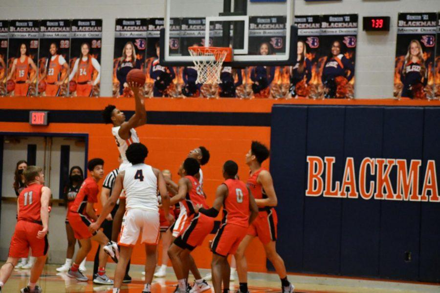 Blackman basketball sweeps 2021 district 7-AAA tournament