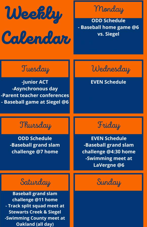 Weekly Calendar (10)