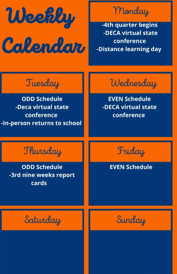 Weekly Calendar (9)