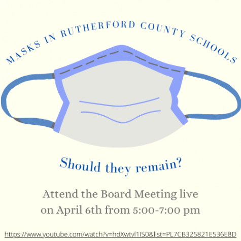 At the next RCS board meeting on April 6, the board will decide if masks should remain required in the schools.