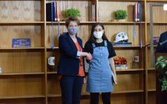 Mariam Youssef won the English I award.
