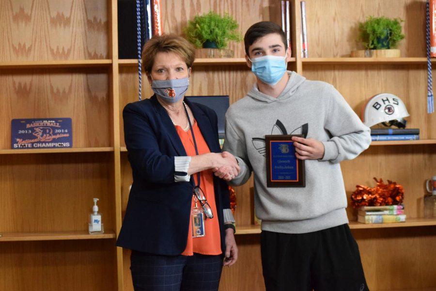 Bradley Jackson won the Cybersecurity award.