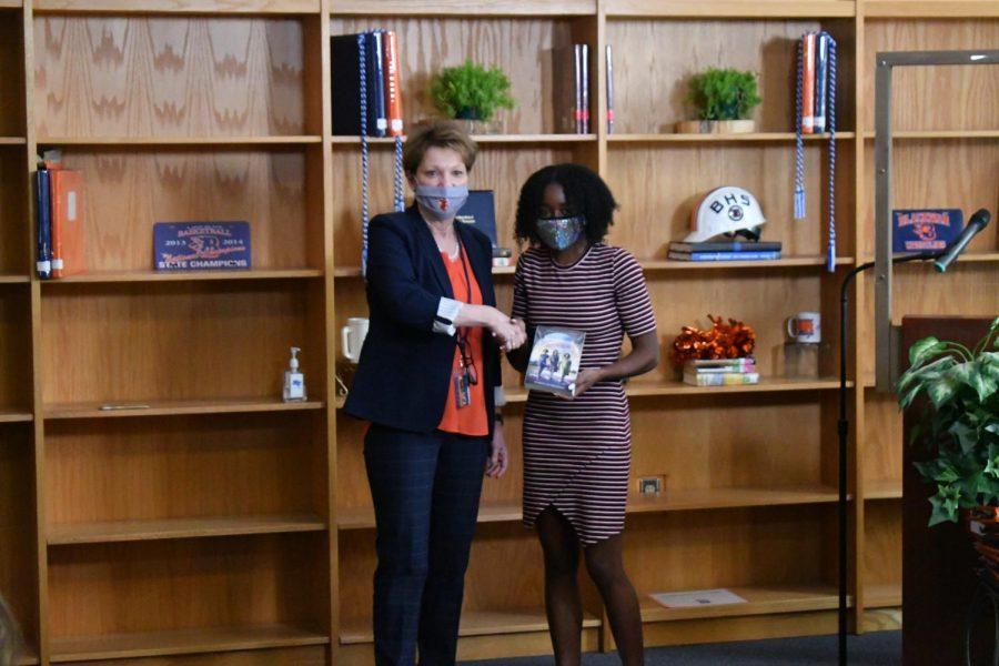 Allessandria Thomas won the Precalculus award.