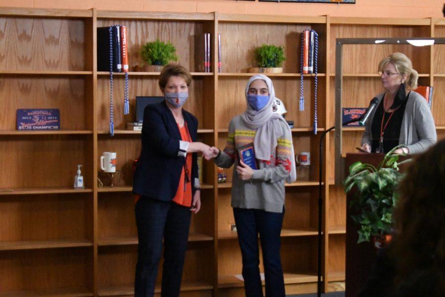 Joudi Alkallaa won the AP Psychology award.