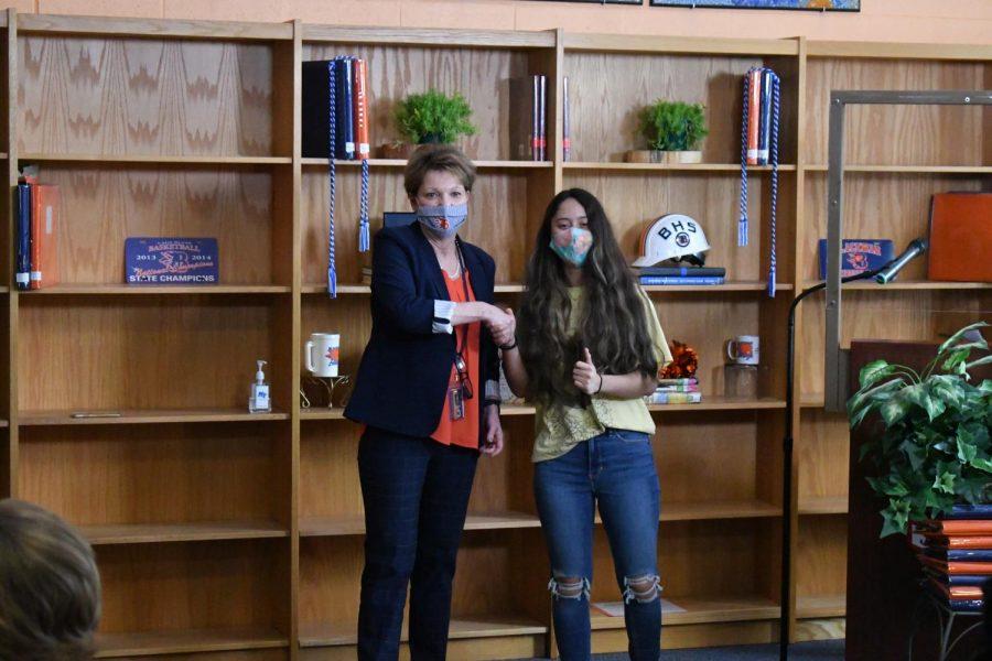 Viviana Peralta won the Business award.