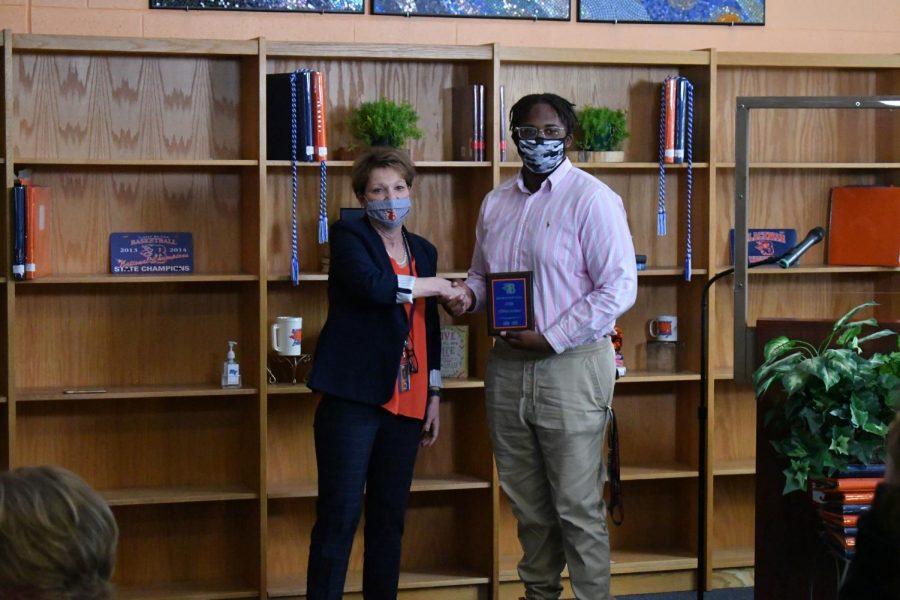 O'Brien Jackson won the STEM award.