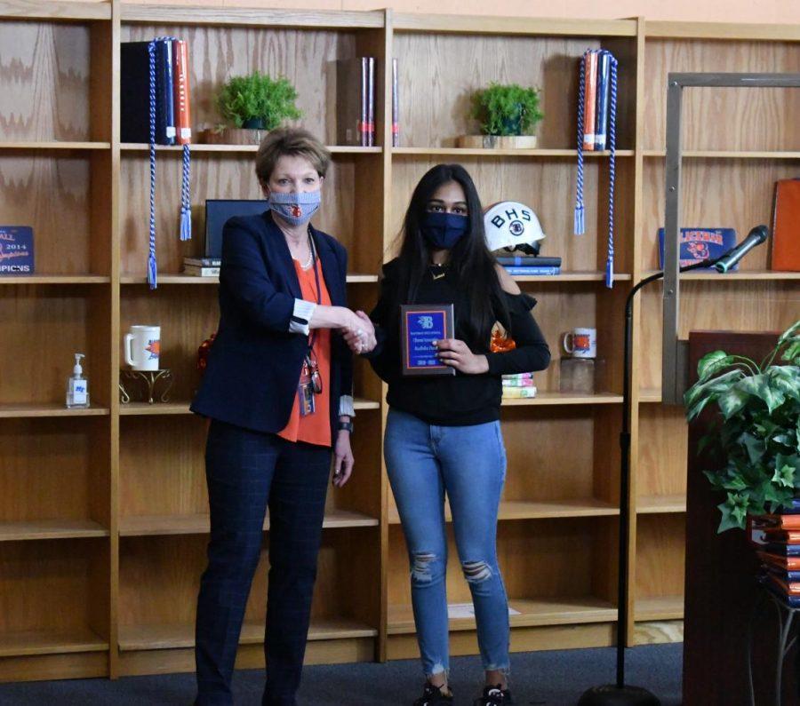 Radhika Patel won the Clinical Internship award.