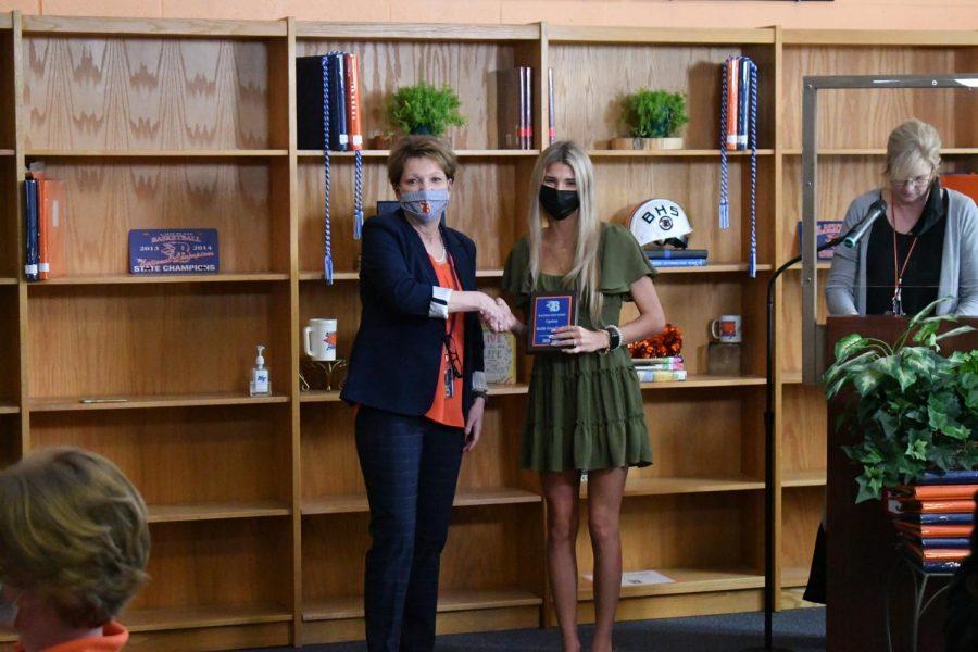 Maddie Grace Candlish won a Capstone award.